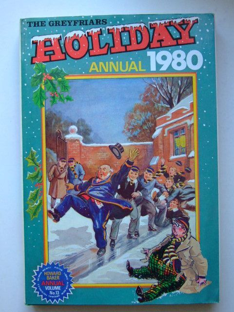 Photo of THE GREYFRIARS HOLIDAY ANNUAL 1980 written by Richards, Frank published by Howard Baker Press (STOCK CODE: 1105356)  for sale by Stella & Rose's Books