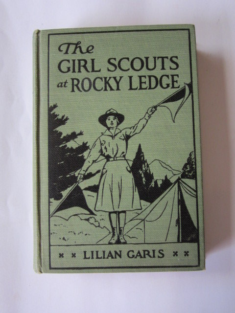 Photo of THE GIRL SCOUTS AT ROCKY LEDGE- Stock Number: 1106243