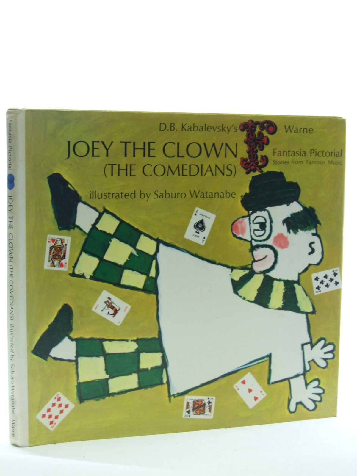 Photo of D.B. KABALEVSKY'S JOEY THE CLOWN (THE COMEDIANS) written by Tsutsui, Keisuke Herring, Ann King illustrated by Watanabe, Saburo published by Frederick Warne (STOCK CODE: 1107035)  for sale by Stella & Rose's Books