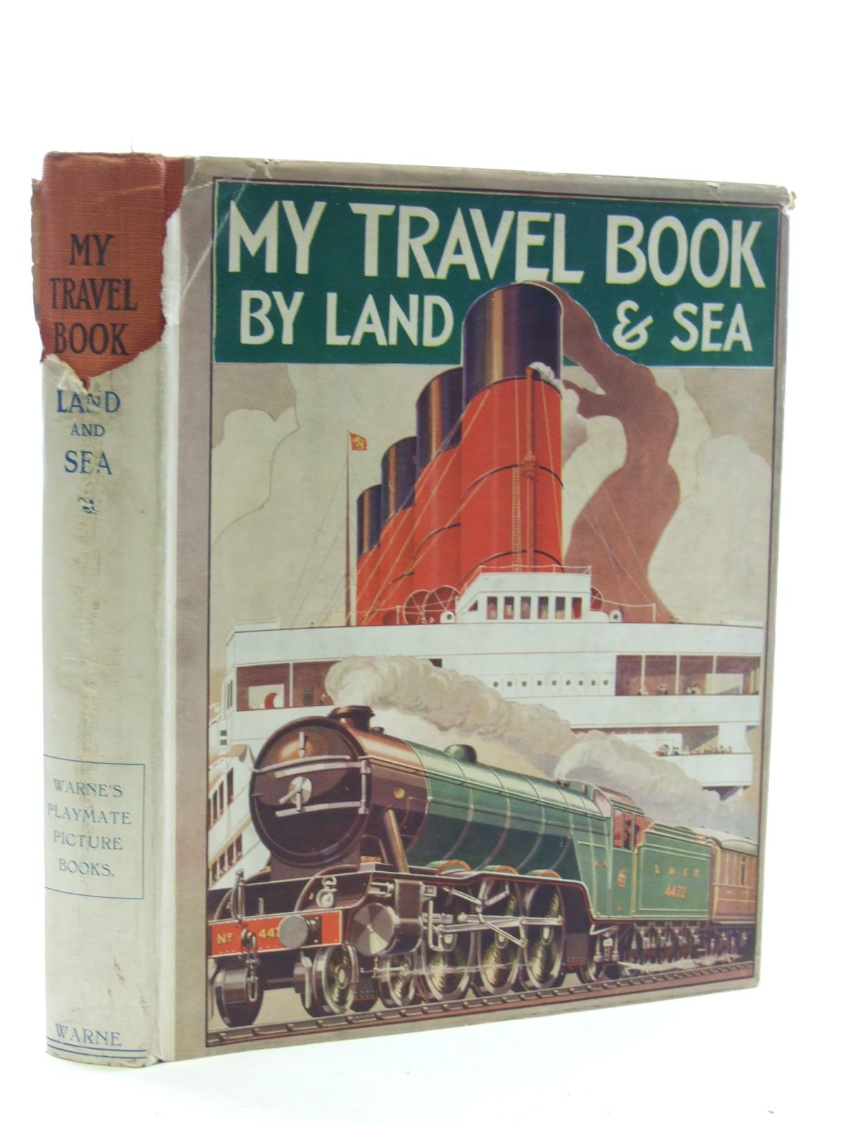 Photo of MY TRAVEL BOOK BY LAND AND SEA written by Jackson, G.G. illustrated by Lumley, Savile<br />et al., published by Frederick Warne &amp; Co Ltd. (STOCK CODE: 1107059)  for sale by Stella & Rose's Books