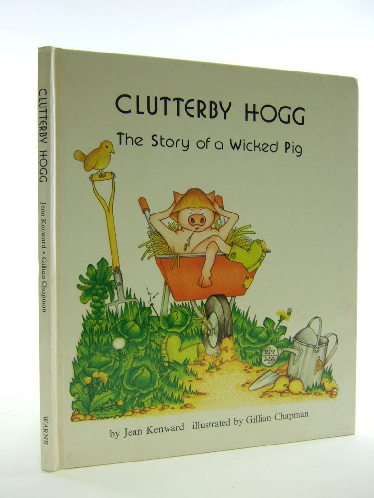 Photo of CLUTTERBY HOG written by Kenward, Jean illustrated by Chapman, Gillian published by Frederick Warne (STOCK CODE: 1107229)  for sale by Stella & Rose's Books