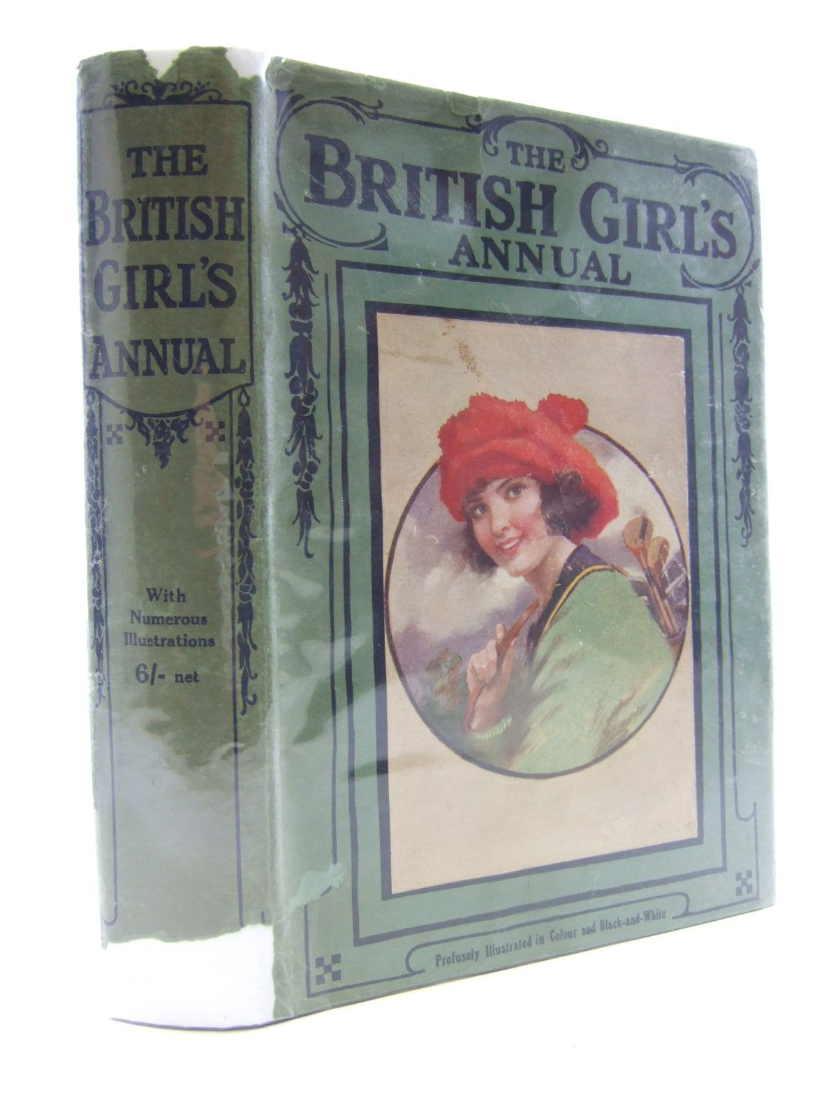 Photo of THE BRITISH GIRL'S ANNUAL- Stock Number: 1107535