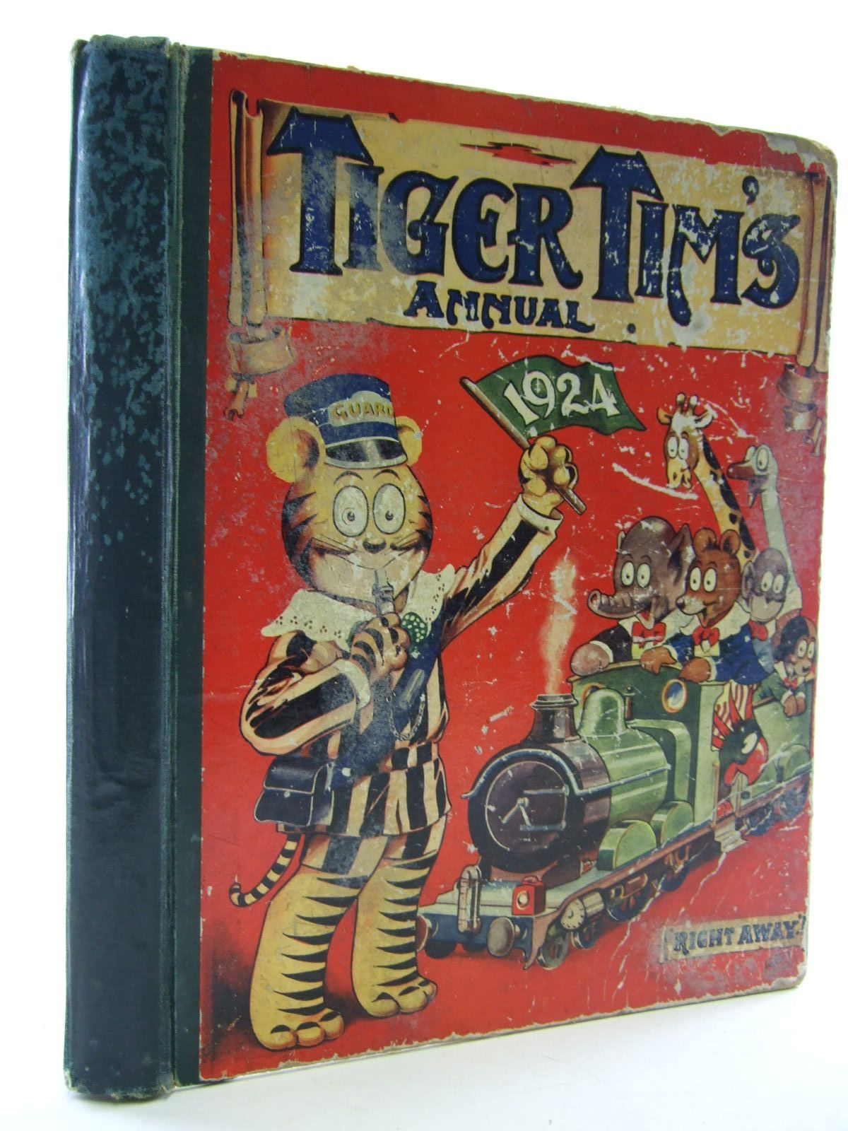Photo of TIGER TIM'S ANNUAL 1924 published by The Amalgamated Press (STOCK CODE: 1107540)  for sale by Stella & Rose's Books