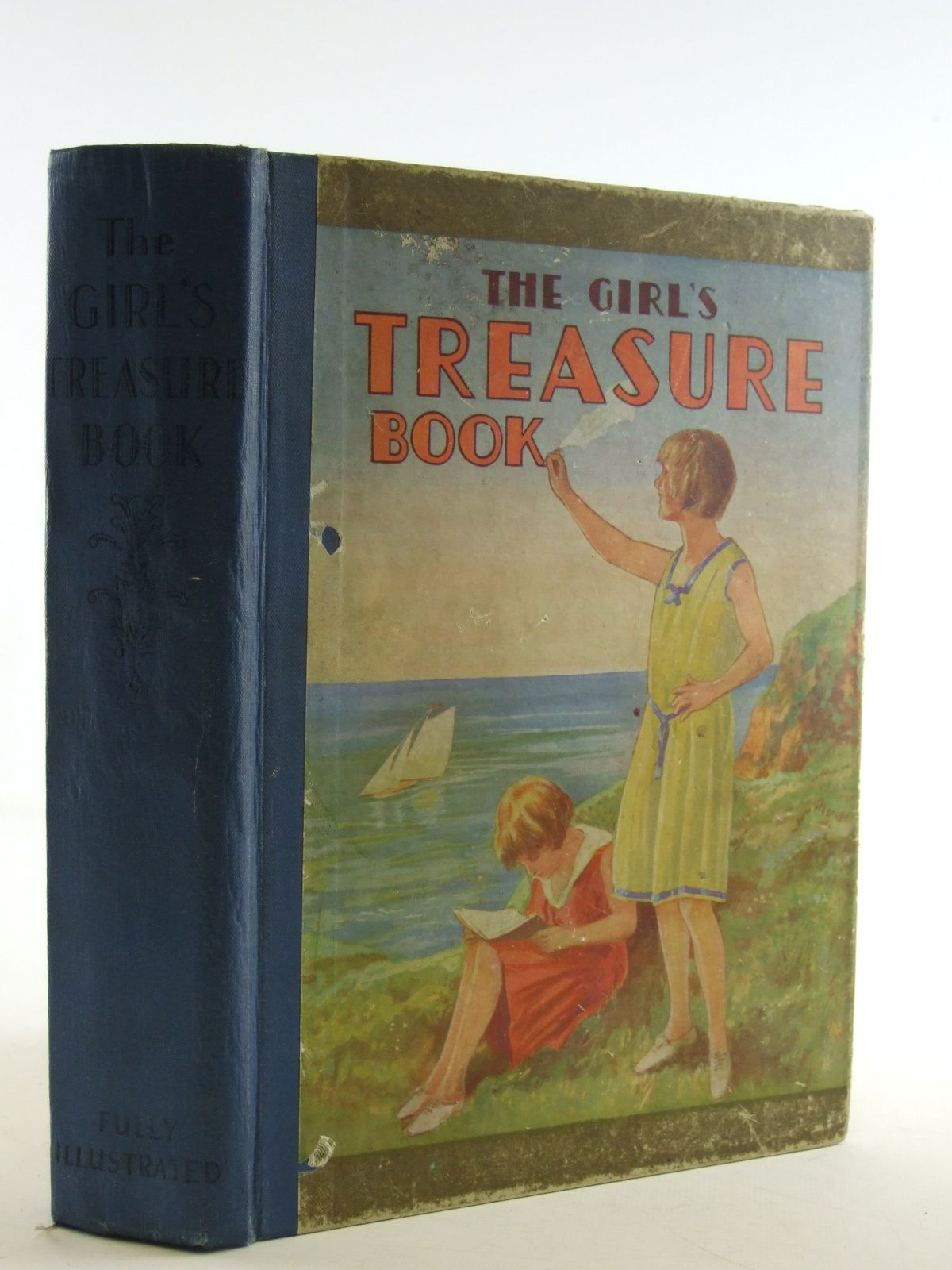 Photo of THE GIRL'S TREASURE BOOK written by Golden, Grace Mary Wilson, J.M. Chaundler, Christine Field, Margaret C. et al,  (STOCK CODE: 1107872)  for sale by Stella & Rose's Books