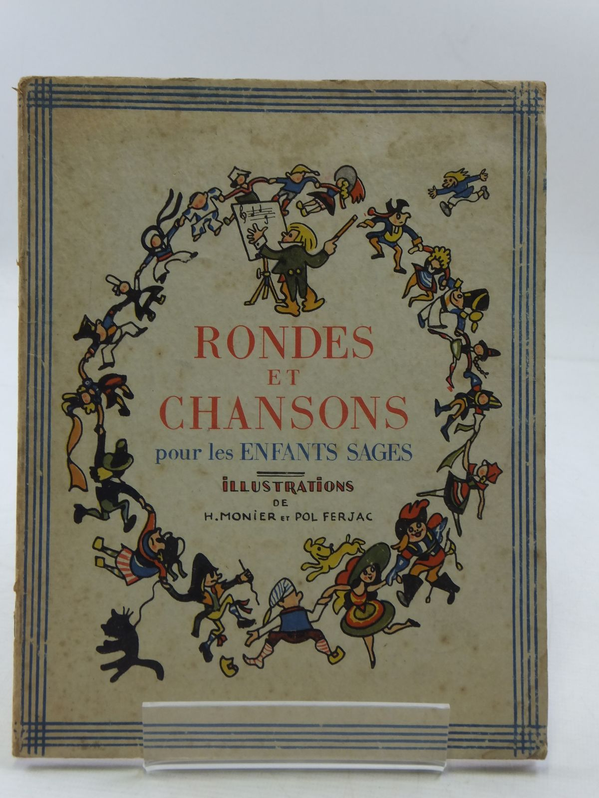 Photo of COMPTINES, RONDES ET CHANSONS POUR LES ENFANTS SAGES written by De Gremilly, Louis Arnould illustrated by Monier, Henri Ferjac, Pol published by Librairie Grund (STOCK CODE: 1108548)  for sale by Stella & Rose's Books