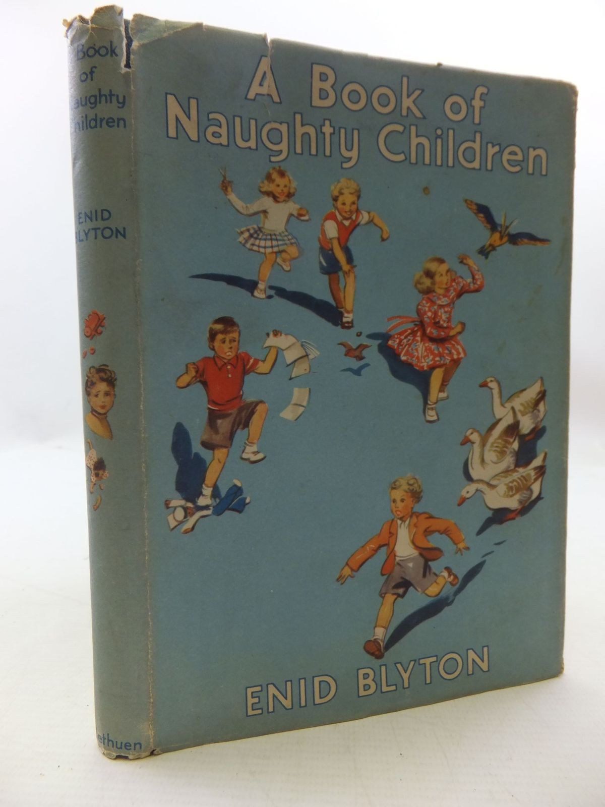 Photo of A BOOK OF NAUGHTY CHILDREN written by Blyton, Enid illustrated by Soper, Eileen published by Methuen & Co. Ltd. (STOCK CODE: 1108588)  for sale by Stella & Rose's Books