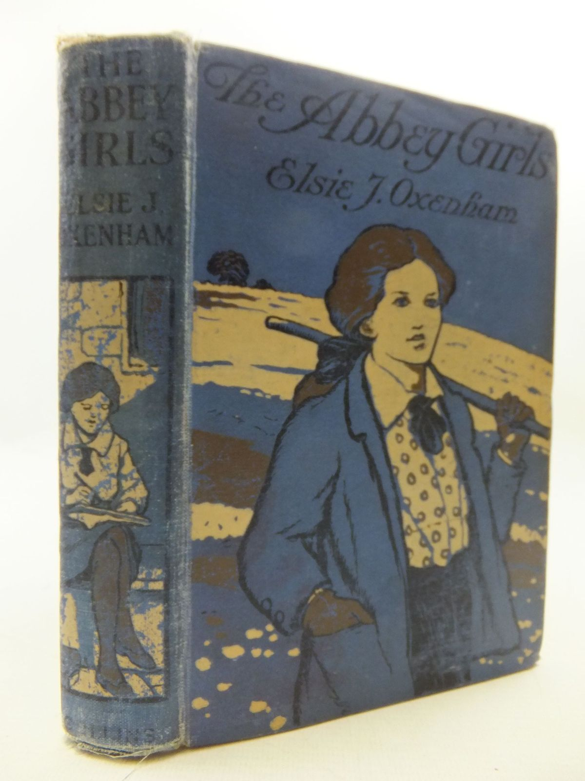 Photo of THE ABBEY GIRLS written by Oxenham, Elsie J. illustrated by Dixon, A.A. published by Collins Clear-Type Press (STOCK CODE: 1108591)  for sale by Stella & Rose's Books