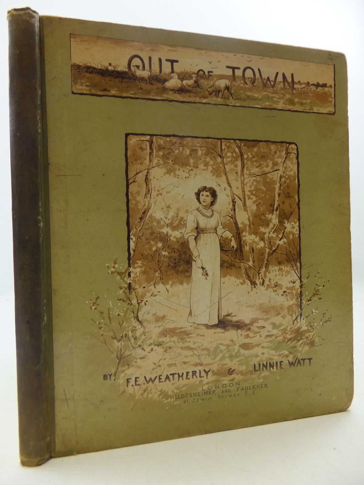Photo of OUT OF TOWN written by Weatherly, F.E. illustrated by Watt, Linnie published by Hildesheimer & Faulkner (STOCK CODE: 1108600)  for sale by Stella & Rose's Books