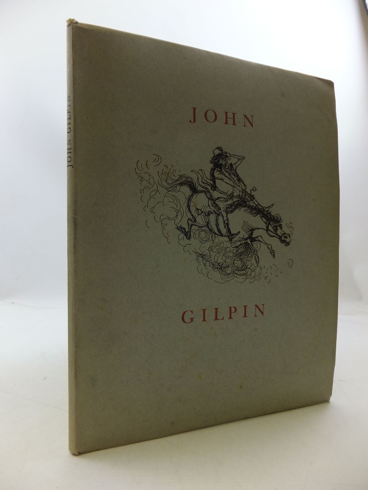 Photo of THE DIVERTING HISTORY OF JOHN GILPIN- Stock Number: 1108611
