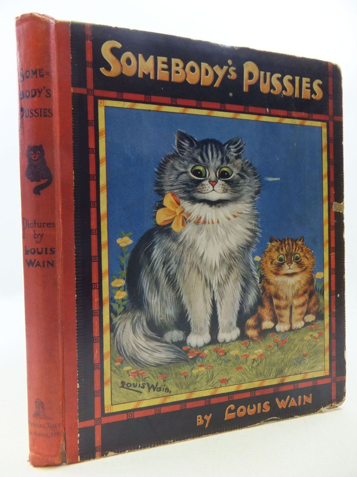 Photo of SOMEBODY'S PUSSIES written by Wain, Louis illustrated by Wain, Louis published by Raphael Tuck & Sons Ltd. (STOCK CODE: 1108626)  for sale by Stella & Rose's Books