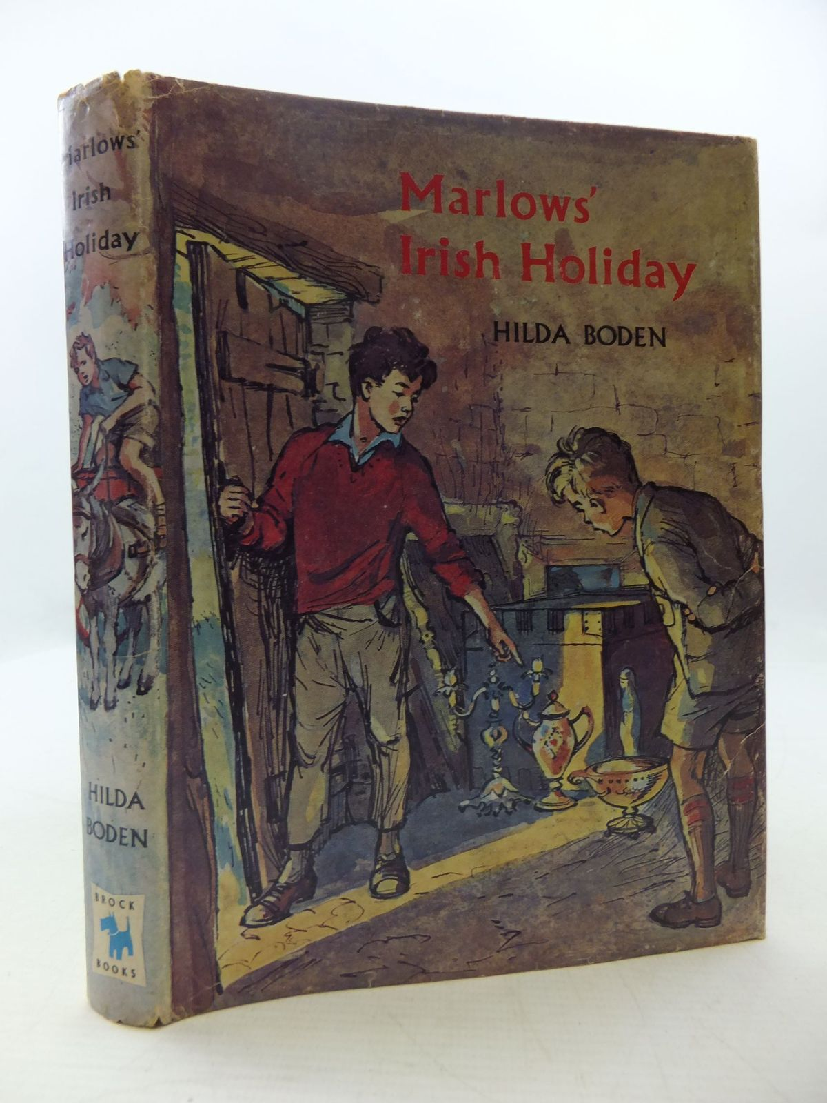 Photo of MARLOWS' IRISH HOLIDAY written by Boden, Hilda illustrated by Buchanan, Lilian published by Brockhampton Press (STOCK CODE: 1108668)  for sale by Stella & Rose's Books