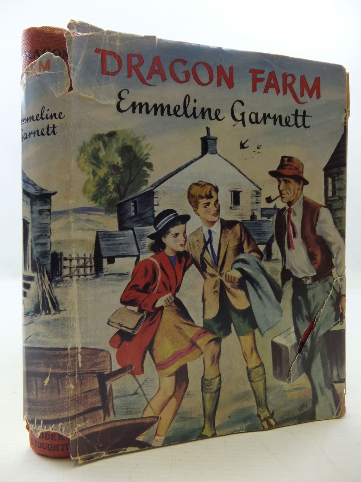Photo of DRAGON FARM written by Garnett, Emmeline illustrated by Kay, B. published by Hodder & Stoughton (STOCK CODE: 1108684)  for sale by Stella & Rose's Books