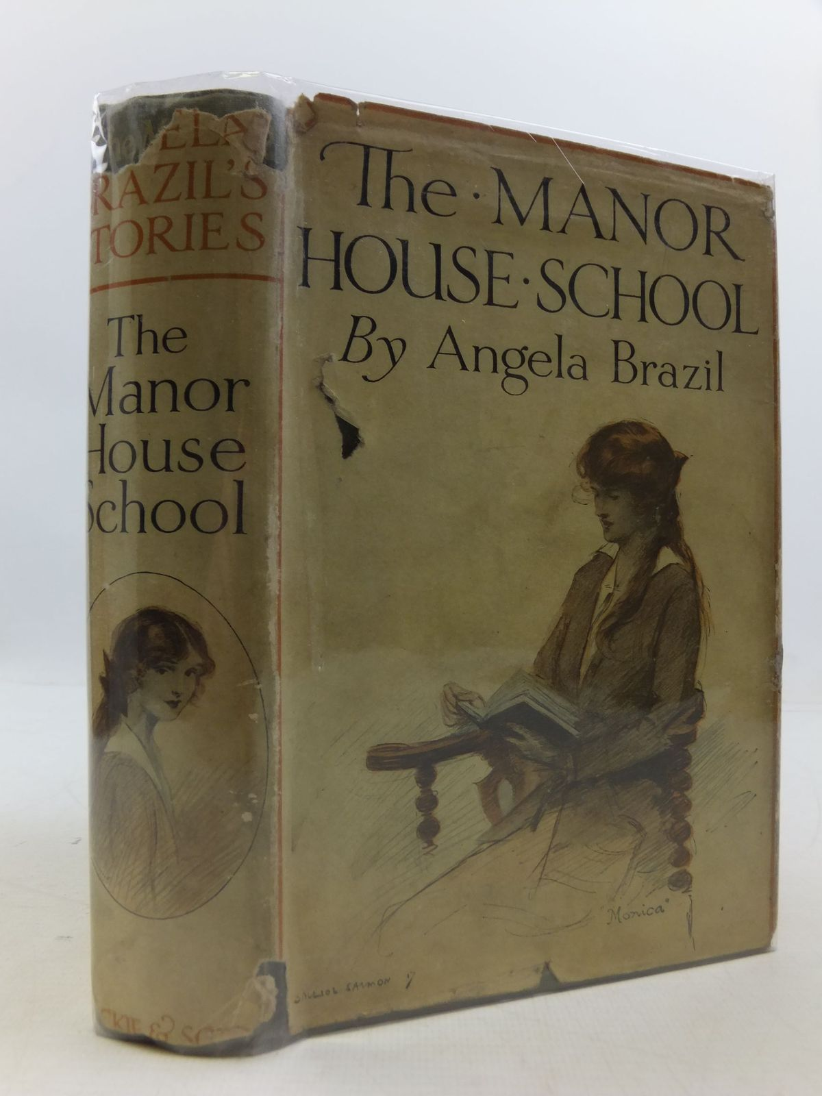 Photo of THE MANOR HOUSE SCHOOL written by Brazil, Angela illustrated by Dixon, Arthur A. published by Blackie & Son Ltd. (STOCK CODE: 1108784)  for sale by Stella & Rose's Books
