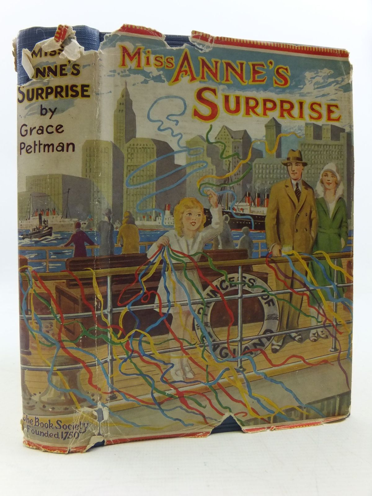 Photo of MISS ANNE'S SURPRISE written by Pettman, Grace published by The Book Society (STOCK CODE: 1108793)  for sale by Stella & Rose's Books