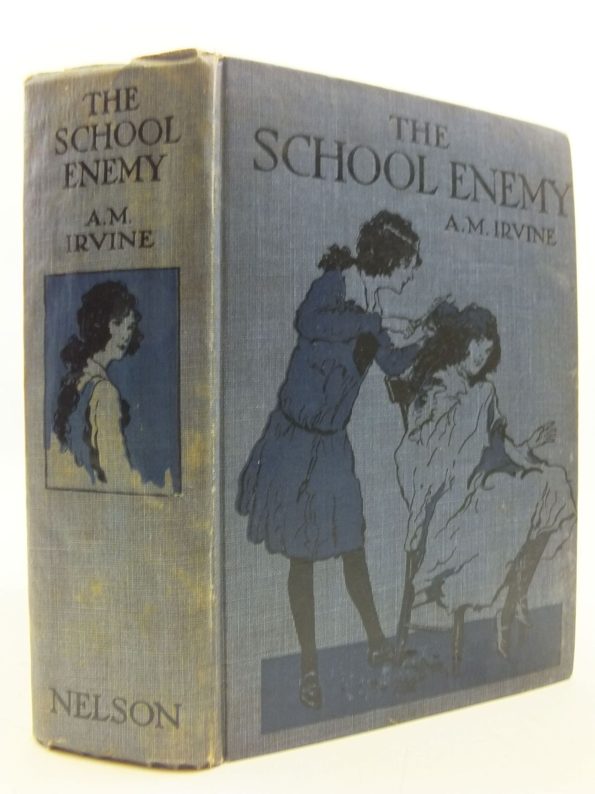 Photo of THE SCHOOL ENEMY written by Irvine, A.M. illustrated by Brock, H.M. published by Thomas Nelson and Sons Ltd. (STOCK CODE: 1108806)  for sale by Stella & Rose's Books