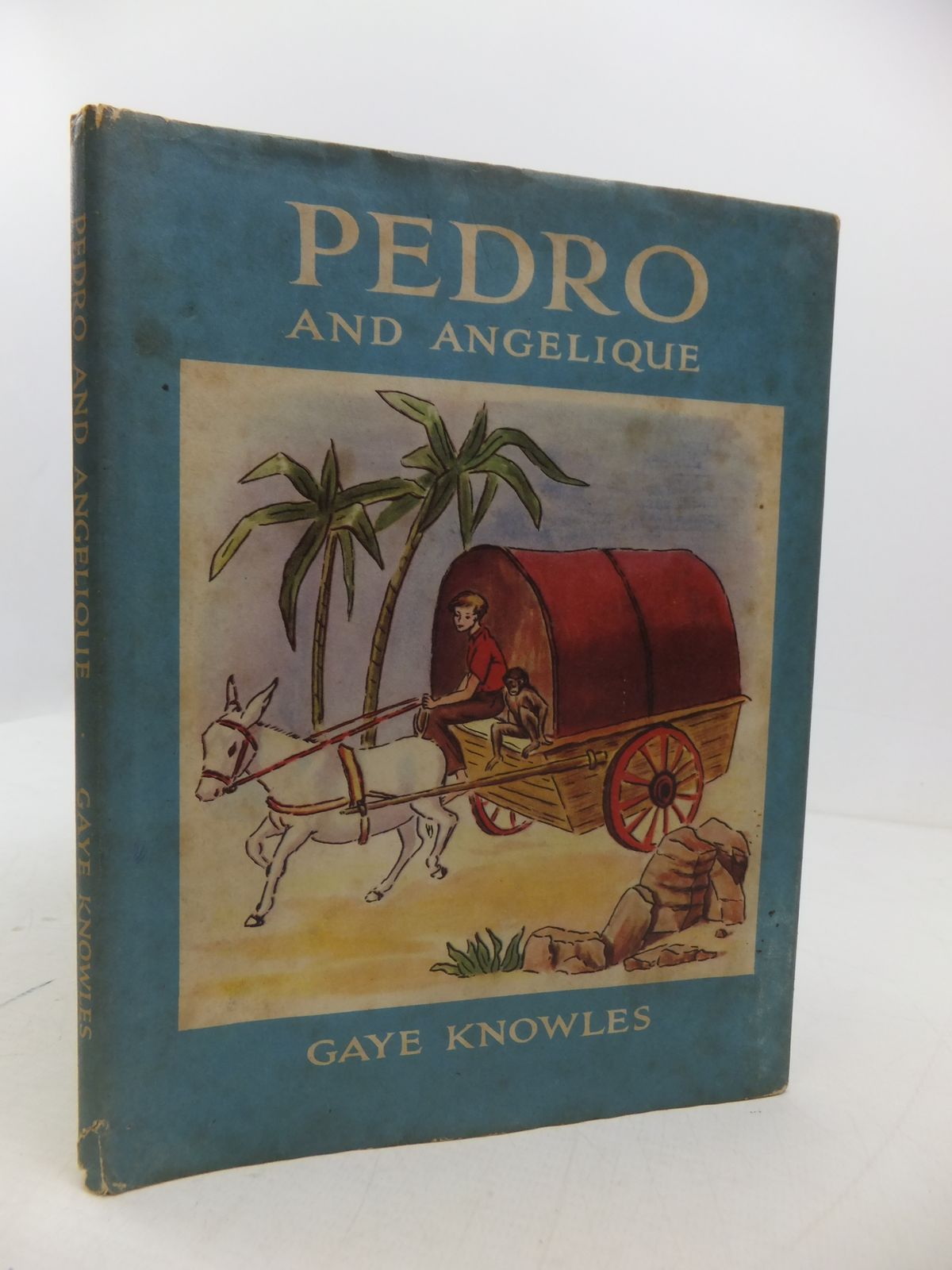 Photo of PEDRO AND ANGELIQUE written by Knowles, Gaye illustrated by Knowles, Gaye published by Brockhampton Press (STOCK CODE: 1108833)  for sale by Stella & Rose's Books