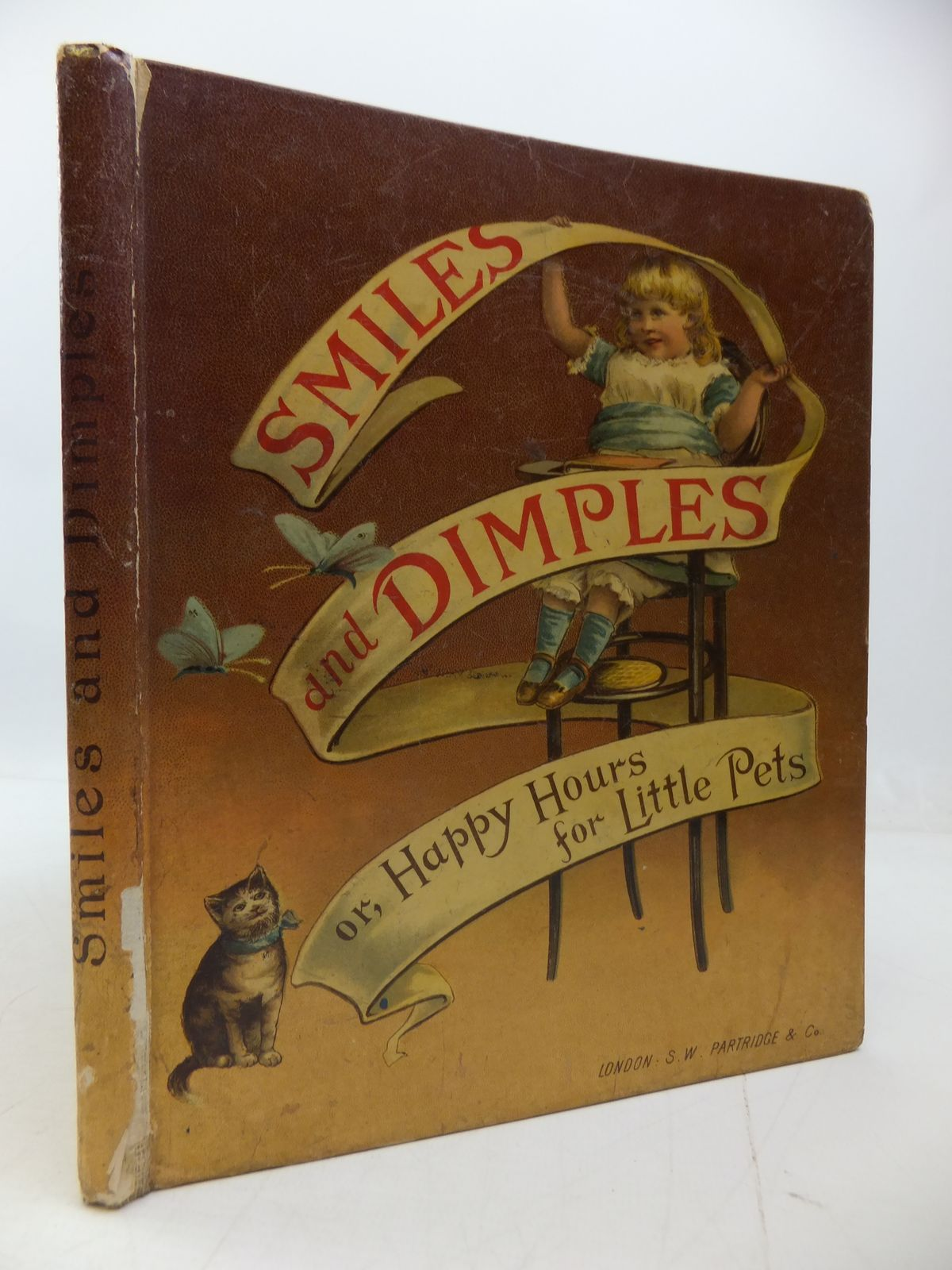 Photo of SMILES AND DIMPLES: HAPPY HOURS FOR LITTLE PETS written by J.D., published by S.W. Partridge & Co. (STOCK CODE: 1108838)  for sale by Stella & Rose's Books