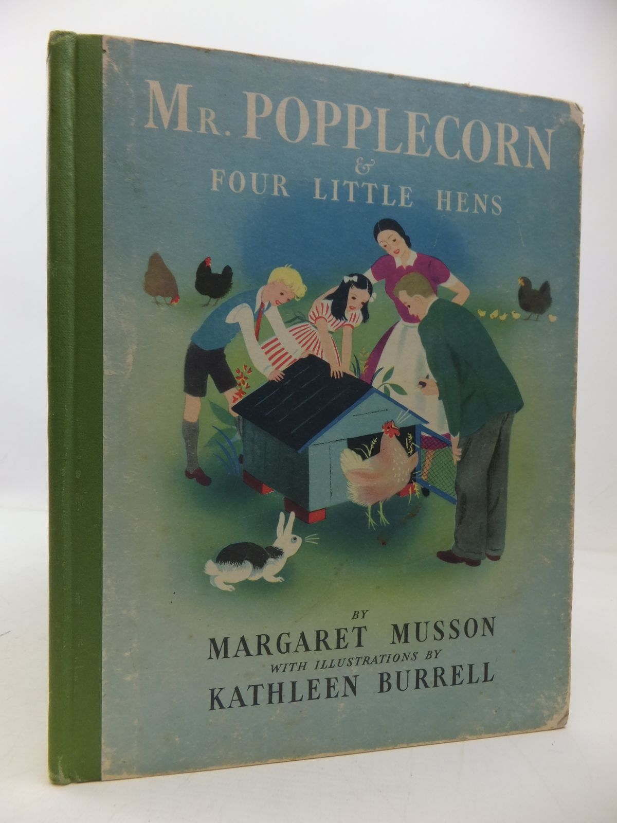 Photo of MR POPPLECORN & FOUR LITTLE HENS written by Musson, Margaret illustrated by Burrell, Kathleen published by George G. Harrap & Co. Ltd. (STOCK CODE: 1108840)  for sale by Stella & Rose's Books