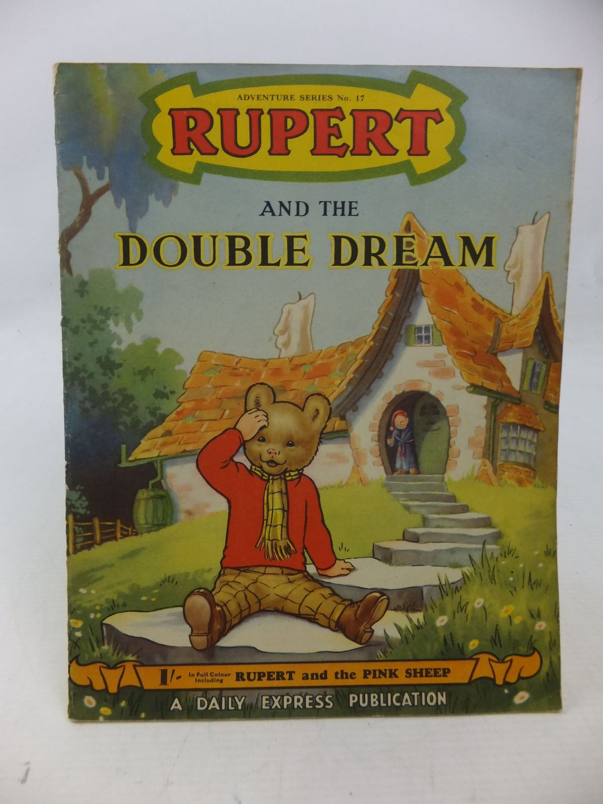 Photo of RUPERT ADVENTURE SERIES No. 17 - RUPERT AND THE DOUBLE DREAM written by Bestall, Alfred published by Daily Express (STOCK CODE: 1109173)  for sale by Stella & Rose's Books