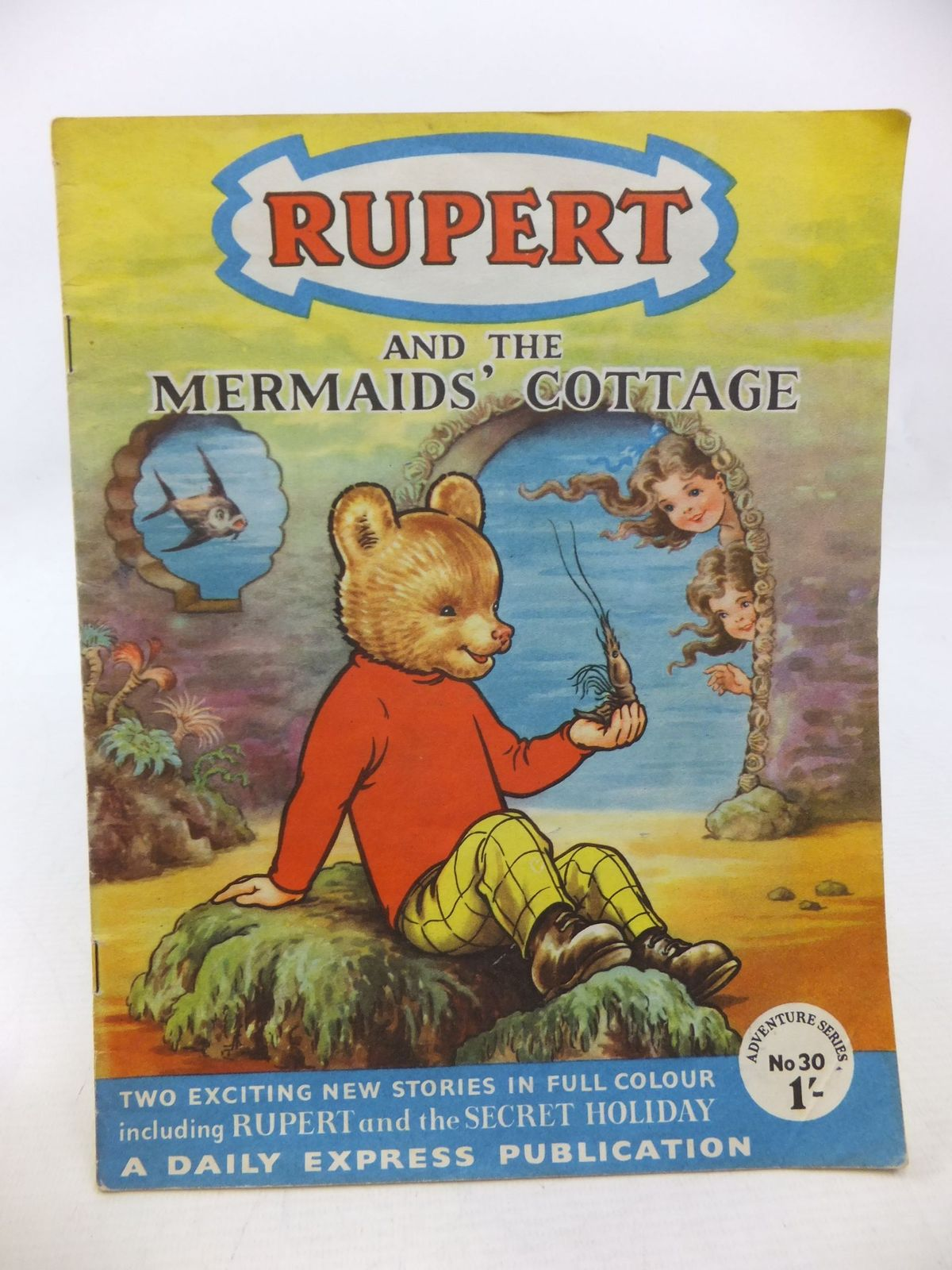 Photo of RUPERT ADVENTURE SERIES No. 30 - RUPERT AND THE MERMAIDS' COTTAGE written by Bestall, Alfred published by Daily Express (STOCK CODE: 1109174)  for sale by Stella & Rose's Books