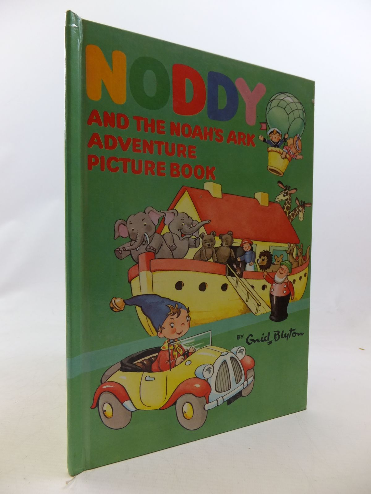 Photo of NODDY AND THE NOAH'S ARK ADVENTURE PICTURE BOOK written by Blyton, Enid published by Sampson Low, Marston & Co. Ltd., Dennis Dobson Ltd. (STOCK CODE: 1109233)  for sale by Stella & Rose's Books