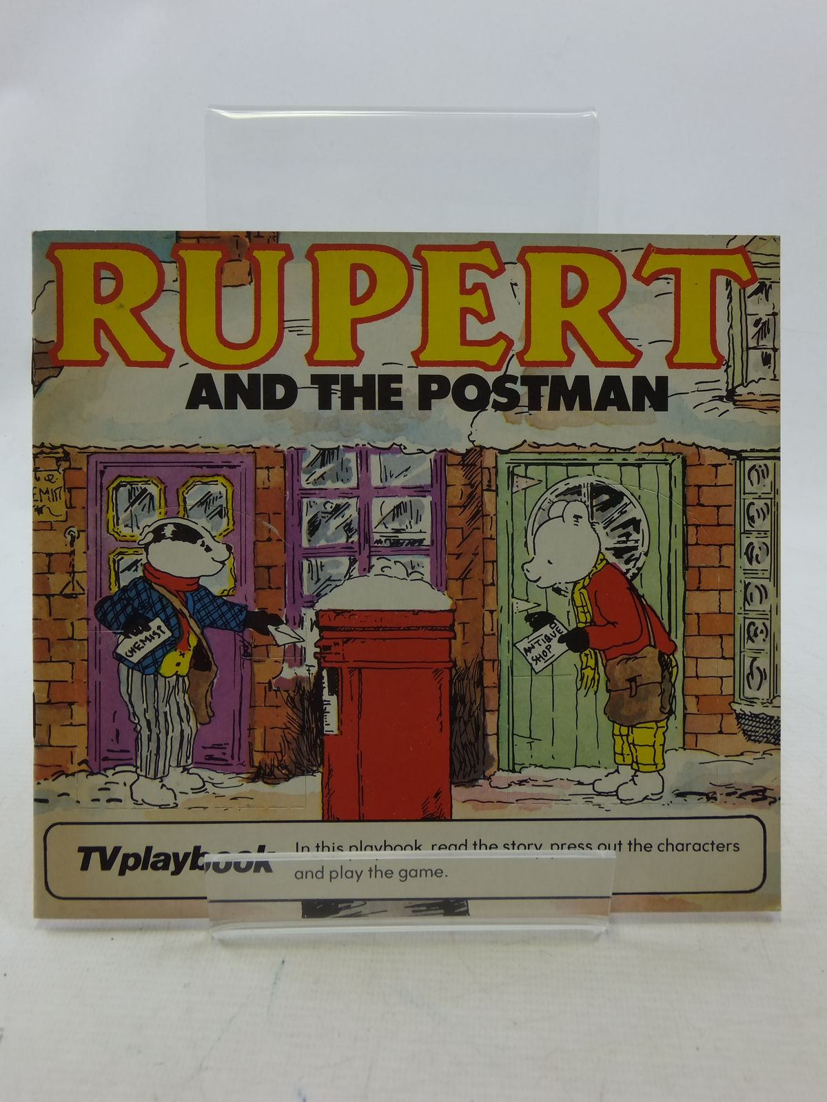 Photo of RUPERT AND THE POSTMAN written by Wells, Mick illustrated by Wells, Mick published by Michael Stanfield Holdings (STOCK CODE: 1109262)  for sale by Stella & Rose's Books