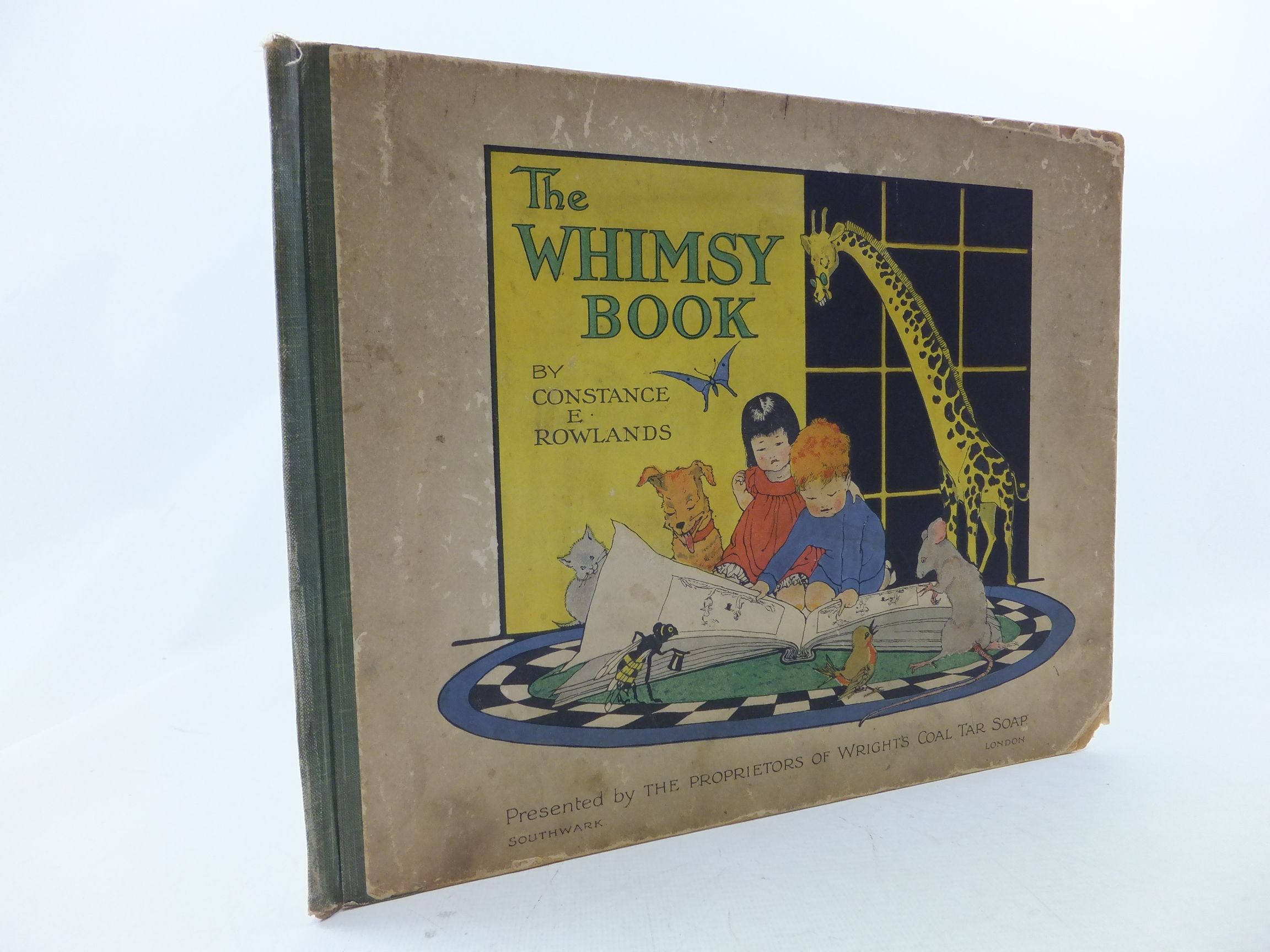 Photo of THE WHIMSY BOOK written by Rowlands, Constance E. illustrated by Rowlands, Constance E. published by Wright's Coal Tar Soap (STOCK CODE: 1109377)  for sale by Stella & Rose's Books
