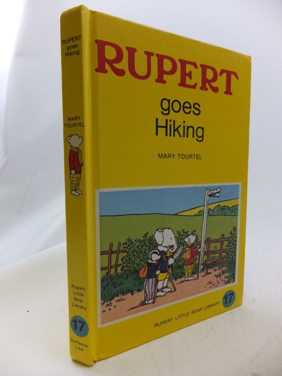 Photo of RUPERT GOES HIKING - RUPERT LITTLE BEAR LIBRARY No. 17 (WOOLWORTH)- Stock Number: 1109508
