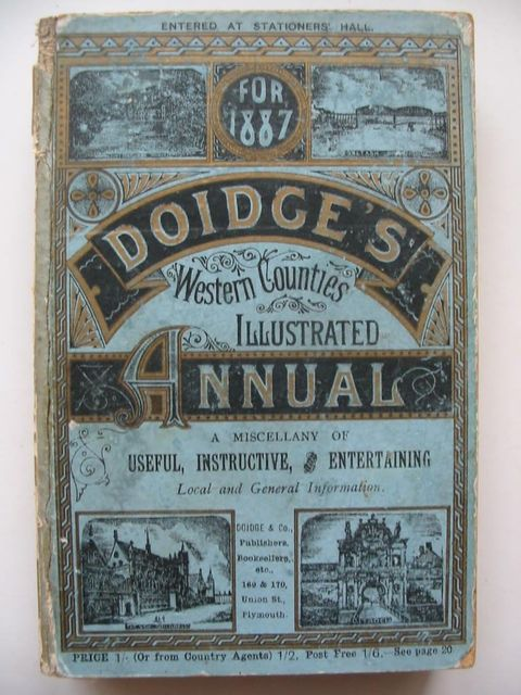 Photo of DOIDGE'S WESTERN COUNTIES ILLUSTRATED ANNUAL 1887- Stock Number: 1201034