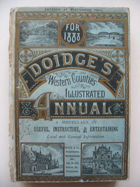 Photo of DOIDGE'S WESTERN COUNTIES ILLUSTRATED ANNUAL 1888- Stock Number: 1201035