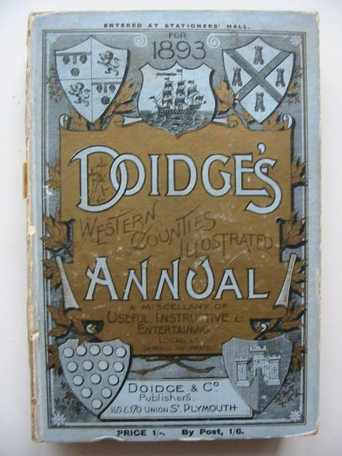 Photo of DOIDGE'S WESTERN COUNTIES ILLUSTRATED ANNUAL 1893- Stock Number: 1201040