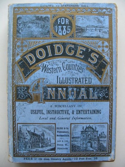 Photo of DOIDGE'S WESTERN COUNTIES ILLUSTRATED ANNUAL 1885- Stock Number: 1201042
