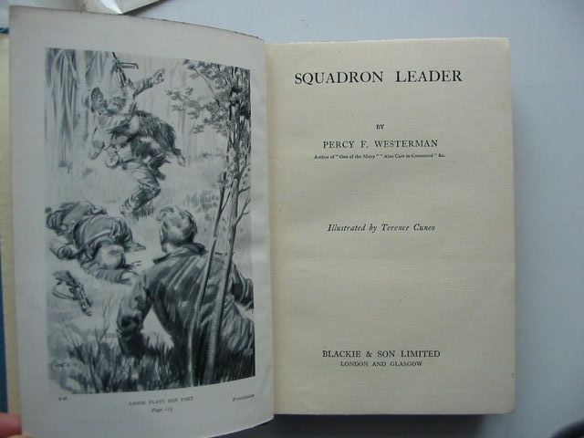 Photo of SQUADRON LEADER written by Westerman, Percy F. illustrated by Cuneo, Terence published by Blackie & Son Ltd. (STOCK CODE: 1201131)  for sale by Stella & Rose's Books