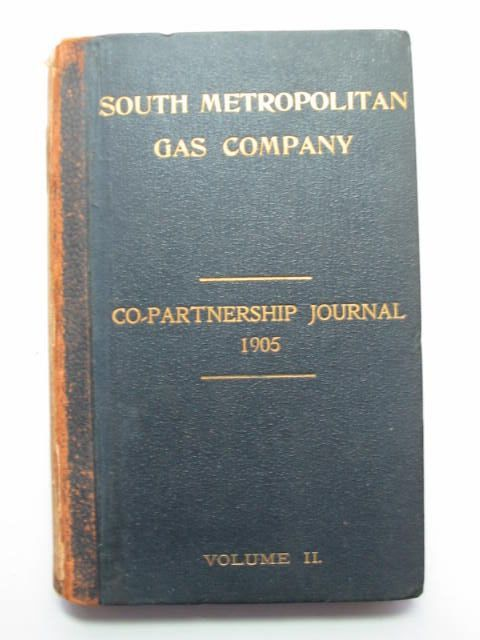 Photo of SOUTH METROPOLITAN GAS COMPANY CO-PARTNERSHIP JOURNAL VOLUME II published by South Metropolitan Gas Company (STOCK CODE: 1201155)  for sale by Stella & Rose's Books