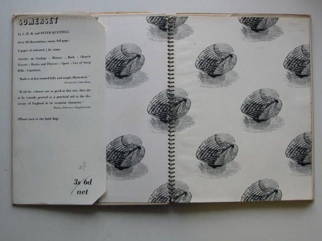 Photo of SOMERSET SHELL GUIDE written by Quennell, C.H.B.<br />Quennell, Peter published by Faber &amp; Faber (STOCK CODE: 1201226)  for sale by Stella & Rose's Books