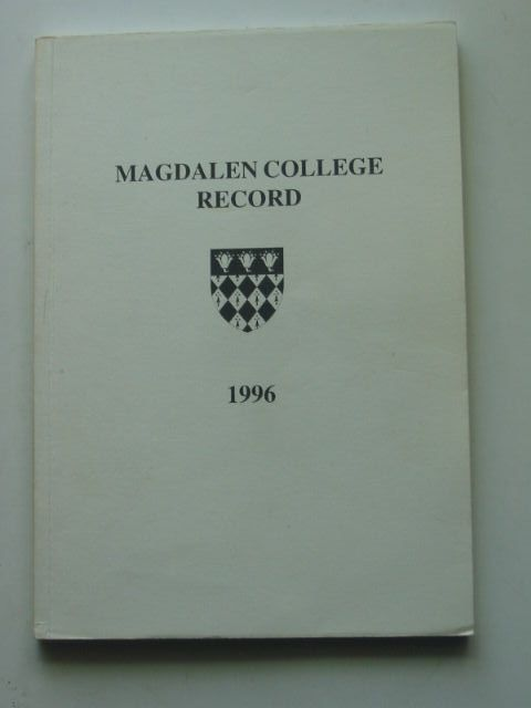 Photo of MAGDALEN COLLEGE RECORD 1996- Stock Number: 1201335