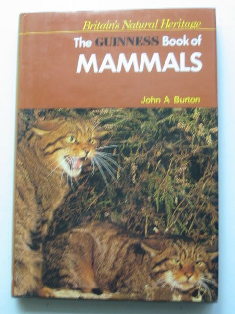 Photo of THE GUINNESS BOOK OF MAMMALS- Stock Number: 1201427