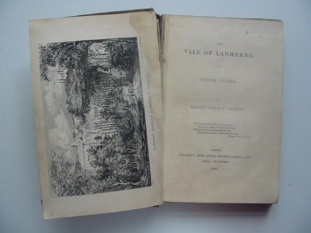 Photo of THE VALE OF LANHERNE AND OTHER POEMS written by Stokes, H. Sewell published by Longman, Rees, Orme, Brown, Green & Co. (STOCK CODE: 1202072)  for sale by Stella & Rose's Books