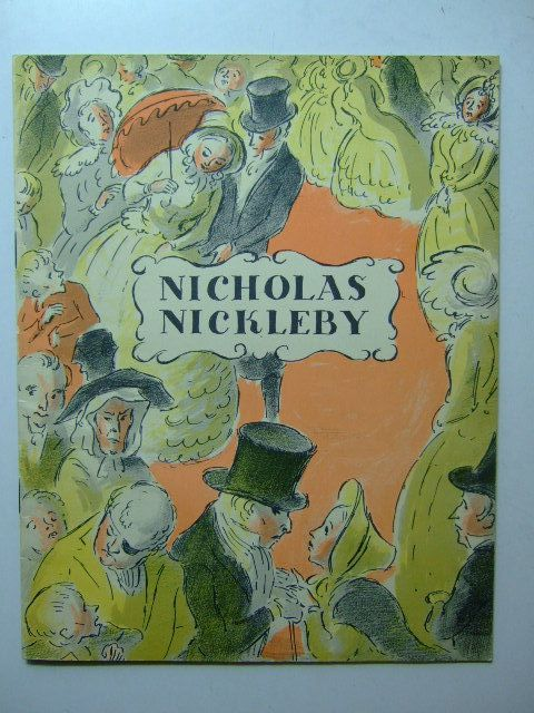 Photo of THE LIFE AND ADVENTURES OF NICHOLAS NICKLEBY written by Dickens, Charles illustrated by Ardizzone, Edward published by Ealing Studios (STOCK CODE: 1203263)  for sale by Stella & Rose's Books