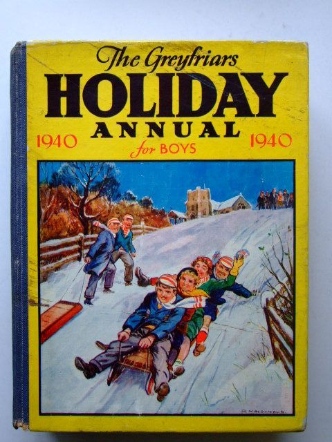 Photo of THE GREYFRIARS HOLIDAY ANNUAL 1940- Stock Number: 1203760