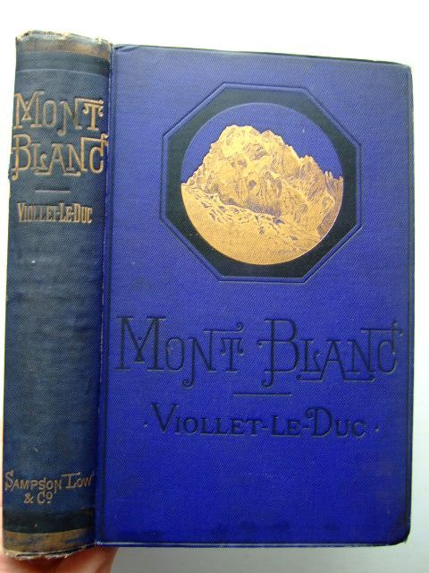 Photo of MONT BLANC A TREATISE- Stock Number: 1204139