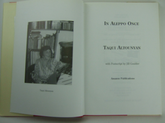 Photo of IN ALEPPO ONCE written by Altounyan, Taqui published by Amazon Publications (STOCK CODE: 1205801)  for sale by Stella & Rose's Books