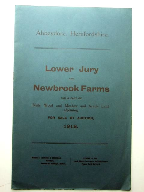 Photo of LOWER JURY AND NEWBROOK FARMS ABBEYDORE- Stock Number: 1206027