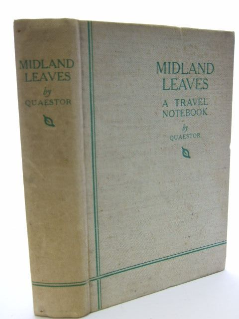 Photo of MIDLAND LEAVES written by Byford-Jones, Wilfred published by The Midland News Association (STOCK CODE: 1206395)  for sale by Stella & Rose's Books