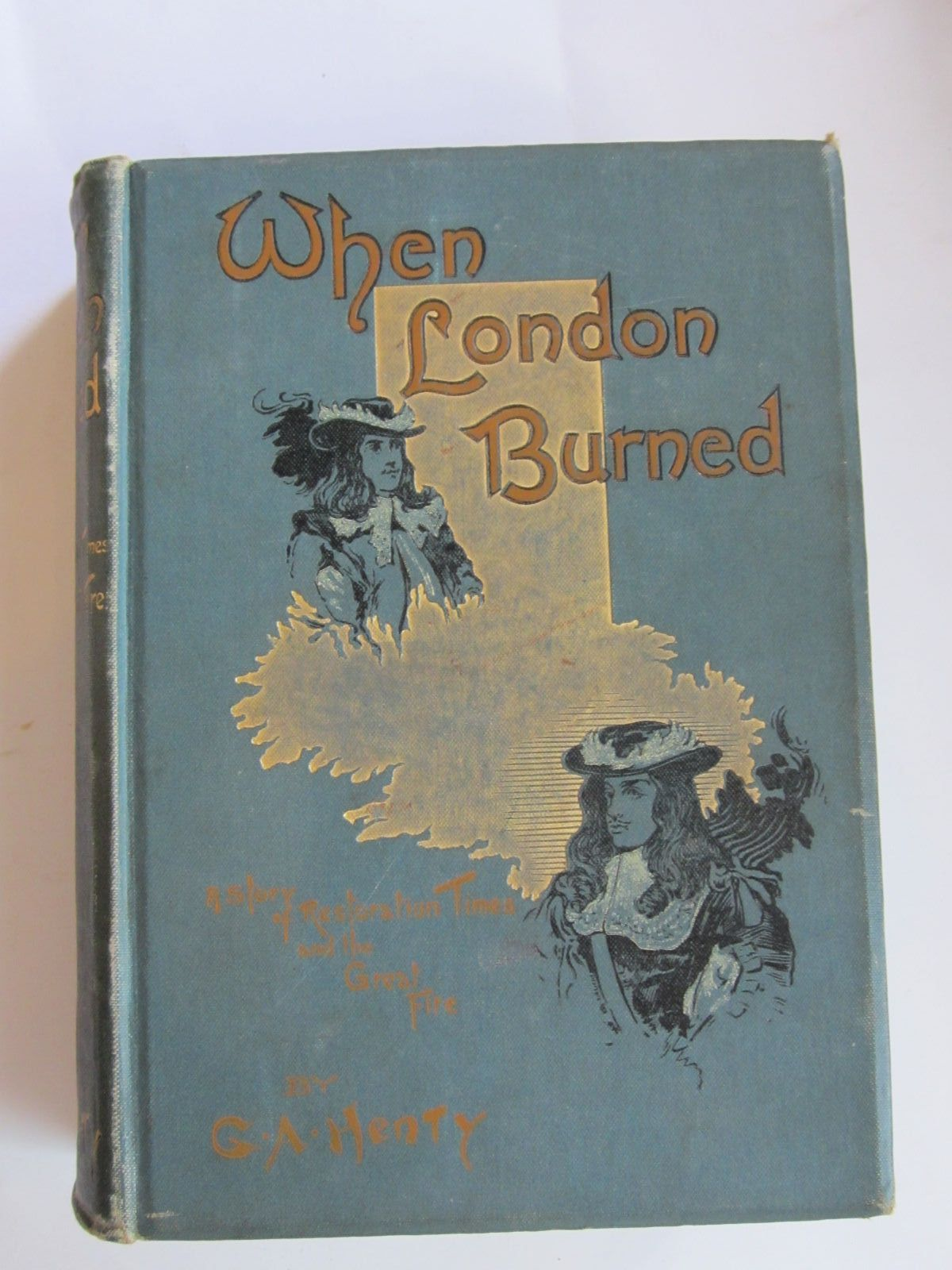 Photo of WHEN LONDON BURNED written by Henty, G.A. illustrated by Finnemore, J. published by Blackie & Son Ltd. (STOCK CODE: 1206545)  for sale by Stella & Rose's Books