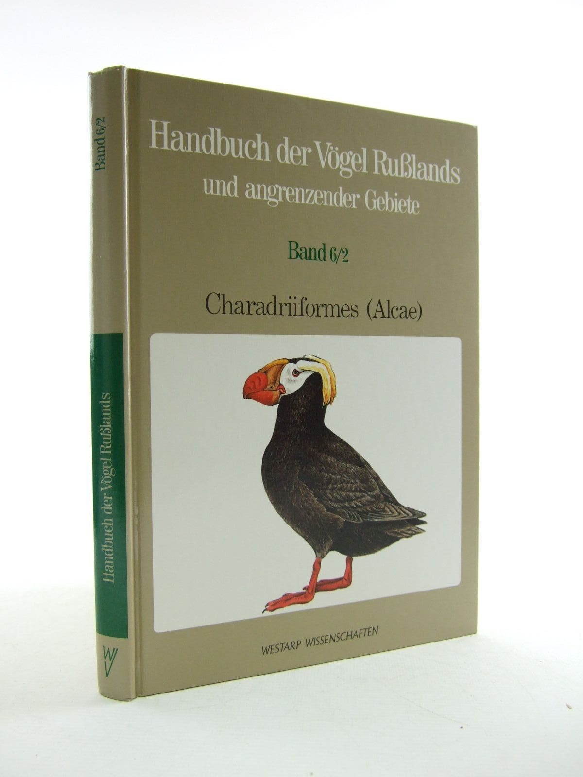 Photo of HANDBUCH DER VOGEL RUSLANDS UND ANGRENZENDER GEBIETE BAND 6/2 written by Flint, V.E. Golovkin, A.N. published by Westarp Wissenschaften (STOCK CODE: 1206634)  for sale by Stella & Rose's Books