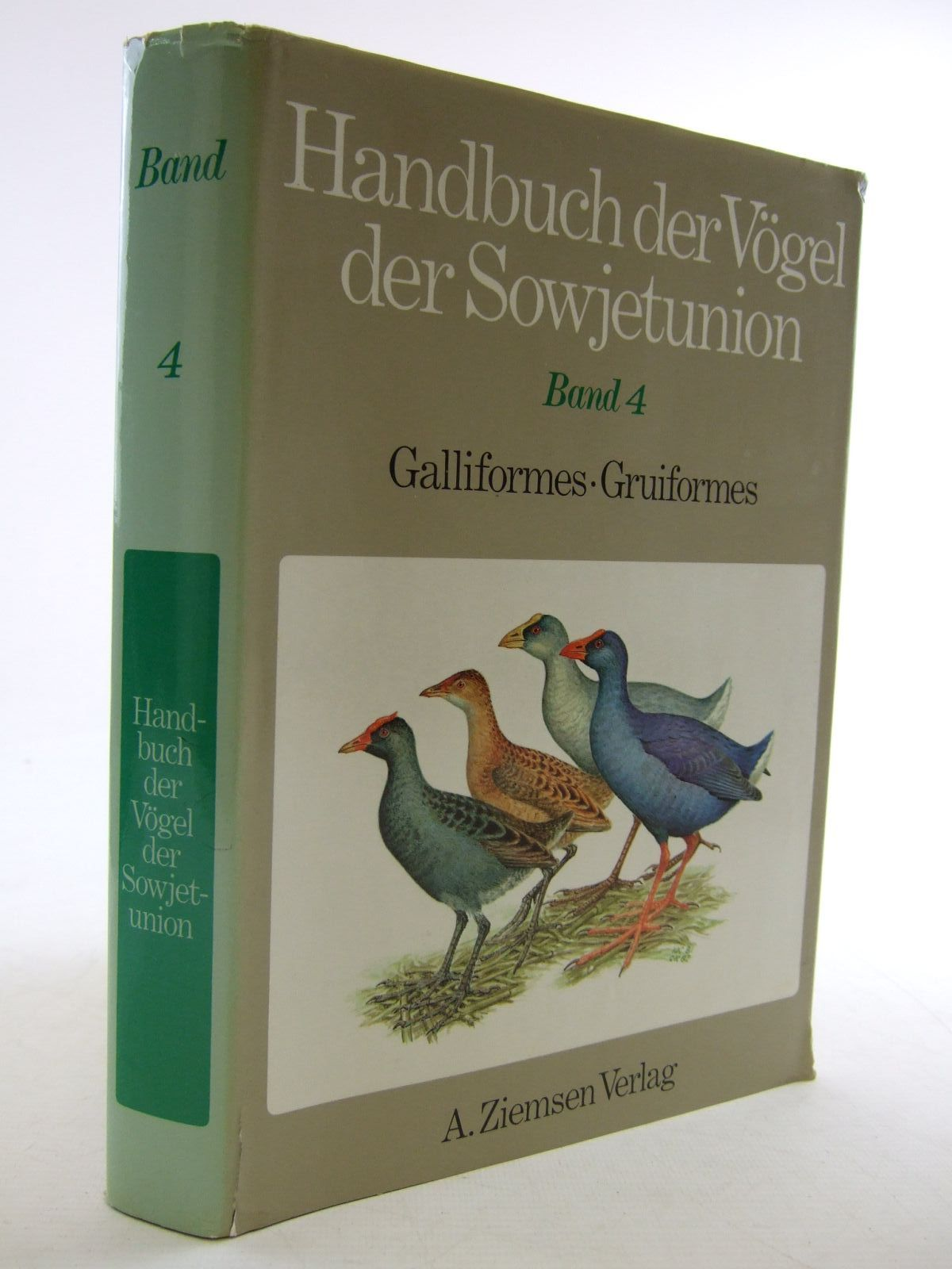 Photo of HANDBUCH DER VOGEL DER SOWJETUNION BAND 4- Stock Number: 1206635