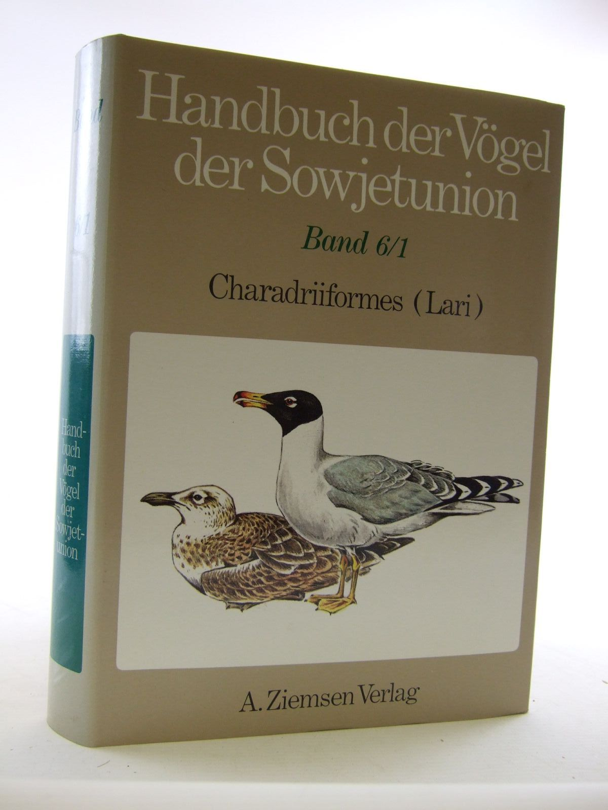 Photo of HANDBUCH DER VOGEL DER SOWJETUNION BAND 6/1- Stock Number: 1206637