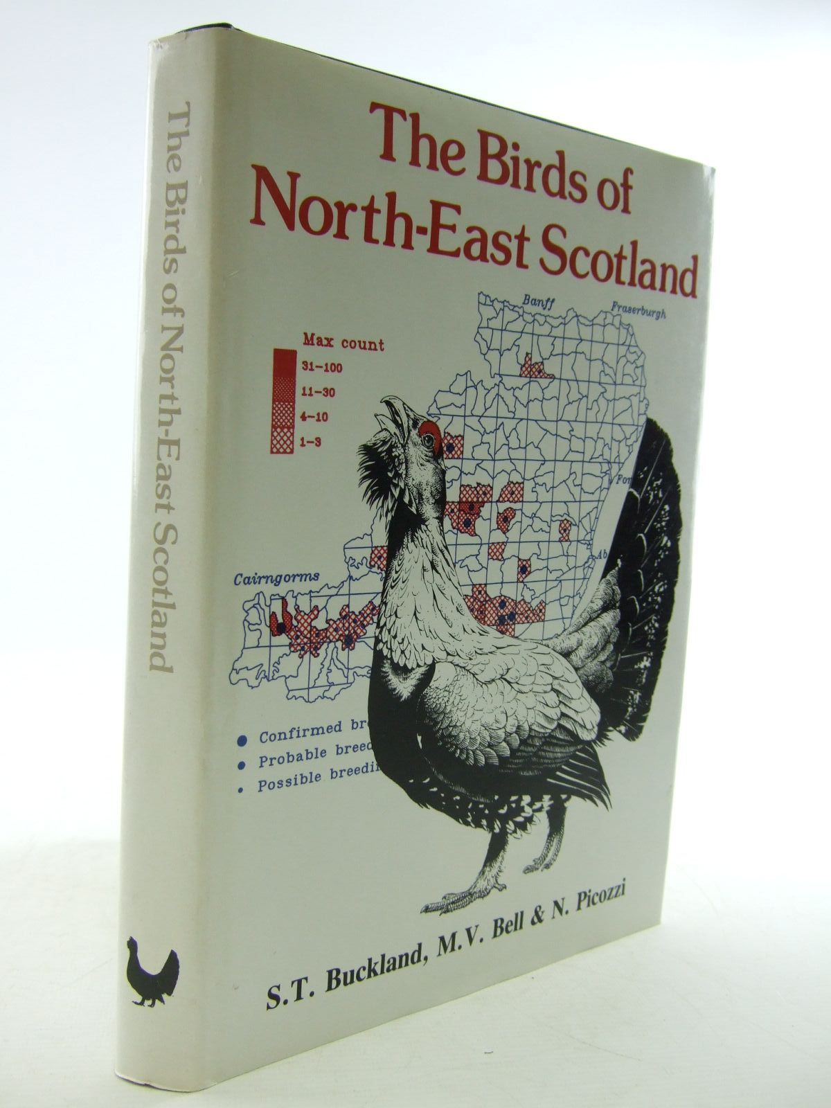 Photo of THE BIRDS OF NORTH-EAST SCOTLAND written by Buckland, S.T. Bell, M.V. Picozzi, N. illustrated by Brockie, Keith published by North-East Scotland Bird Club (STOCK CODE: 1206676)  for sale by Stella & Rose's Books