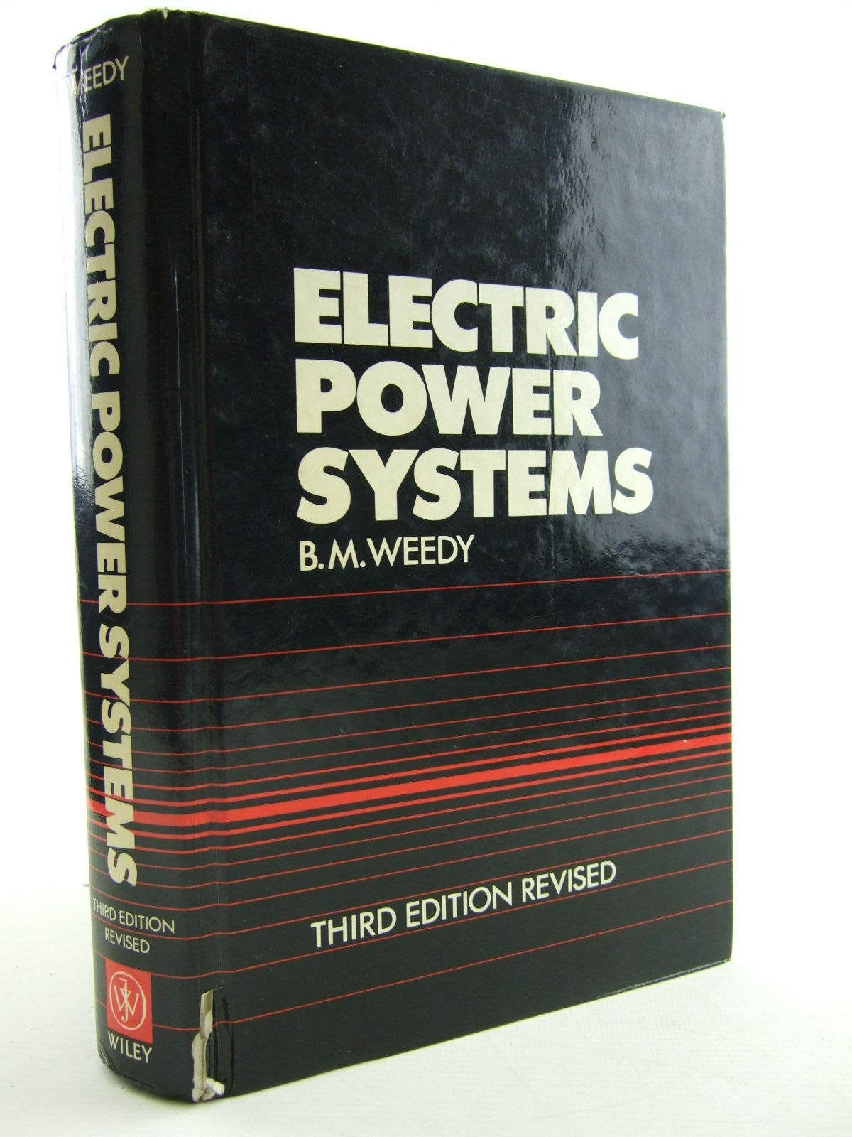 Photo of ELECTRIC POWER SYSTEMS written by Weedy, B.M. published by John Wiley & Sons (STOCK CODE: 1206680)  for sale by Stella & Rose's Books